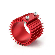 """Universal Circular Heat Sink Cooler Cover 3"""" ID 80mm Fuel Oil Motorcycle Red"""