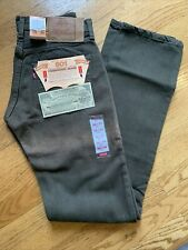 VTG MADE IN USA LEVIS 501  DENIM JEANS DEADSTOCK 90s 28x34 Rare NWT