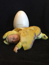 Rare Anne Geddes Yellow Ladybug Doll In Egg