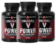 Unleash V Power. Male Enhancement Formula. Size Up Maximum (3 Bottles)