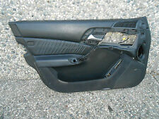 220A019 MERCEDES S430 S500 W220 DOOR TRIM PANEL BLACK FRONT LEFT L/F #TOP-1