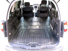 2pc boot liner load mat Ford Galaxy Mk II 2007+ tough anti slip natural rubber