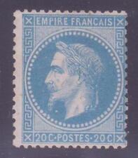 """FRANCE N° 29 B """"NAPOLEON III 20c BLEU"""" NEUF x TB A VOIR"""