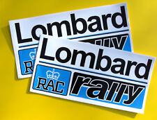 Lombard RAC Rally par estilo vintage Adhesivos