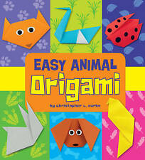 Easy Animal Origami (Easy Origami)-ExLibrary