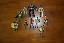BATMAN Action Figures - Set of 10 - Loose Used