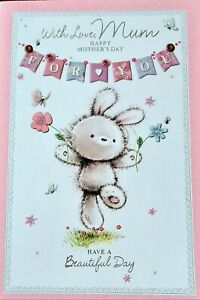 With Love Mum on Mother's Day Card