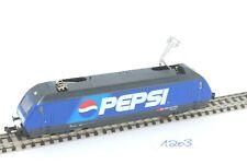 Minitrix 12664 Pepsi E-Lok der SBB CFF FFS mit Metallzahnrädern  *** Spur N ***