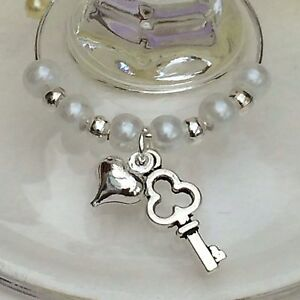 20 Wine Glass Charms. Wedding, Favours, Hen Night