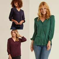 Ex FAT FACE Marigold Blouse RRP £36  £14.99 + 3.99   Delivery! (B96)