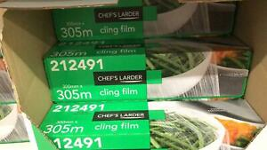 Chef's Larder Cling Film 300mm x 305m
