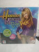 HANNAH MONTANA GIRL TALK GAME NEW SEALED 2007 HASBRO~Miley Cyrus