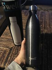 S'well Bottle in Smokey Eye Silver, Stainless Steel, Large 25 oz, New in Box