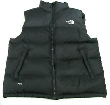 The North Face Goose Down Black Puffer Vest 700 Men's Large Zippered Jacket L