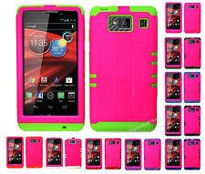 KoolKase Hybrid Mix Cover Case for Motorola Droid Razr Maxx HD XT926m - Hot Pink