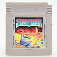 Solar Striker | Nintendo Game Boy Spiel | GameBoy Classic Modul | Akzeptabel