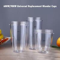 US 600W/900W Universal Replacement Parts for Nutribullet Blender Cups Mug Cup