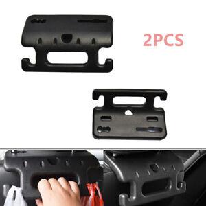 2PCS Car Back Seat Headrest Hanger Storage Hooks for Groceries Bag Coat Handbag