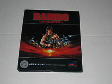 Rambo II  (Apple II, 1985) Rare Mindscape Game