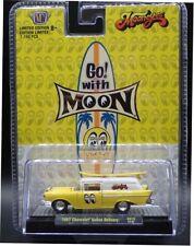 "M2 Machines 1:64 1957 Chevy Sedan Delivery W/Surf Board"" Mooneyes"" Model 500HS18"
