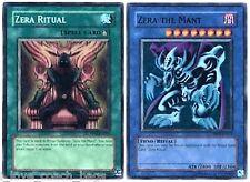 Zera The Mant  + Zera Ritual  Mint Super PP01 Mint  Premium Pack 1 yugioh