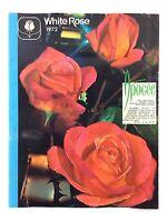 White Rose Nurseries 1972 Unionville Garden Plants Flowers Booklet Catalog L341