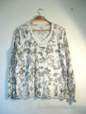 Verge Sz L 14 White Mesh Designer Top