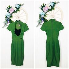 Pinup Couture Dress Women's Size XS Green