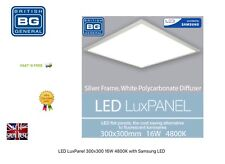 LED Lux Panel 300MM x 300MM 16W 4800K with Samsung LED BRITISH GENERAL BRAND NEW