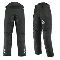 Men's Motorbike Trouser Cordura CE Armours Waterproof Motorcycle Tights Pants