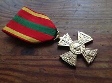 ORIGINAL WWII GILT VOLUNTEER COMBATATANT´S CROSS
