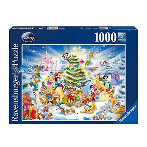 NEW! Ravensburger Disney Christmas Eve 1000pc Puzzle