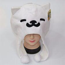 Game Neko Atsume ねこあつめKitty Collector Tubbs Cat Plush Hat Cosplay Cap