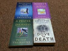 PETER TREMAYNE 4 trade size books SERIES: A MYSTERY OF ANCIENT IRELAND