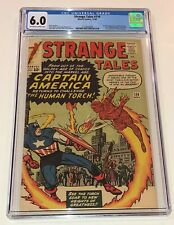 STRANGE TALES #114 ~ 1st Silver-Age appearance of CAPTAIN AMERICA 1963 ~ CGC 6.0