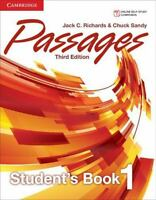 Passages Level 1 Students Book by Jack C. Richards and Chuck Sandy
