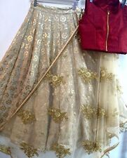 WEDDING PARTY WEAR INDIAN DESIGNER LEHENGA PAKISTANI BRIDAL LEHENGA CHOLI