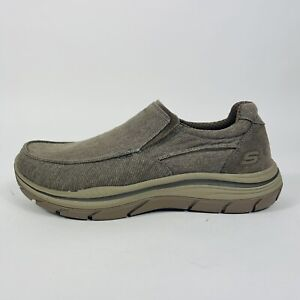 Skechers Expected 2.0 Hurven Shoe Relaxed Men's Size 11 Extra Wide 204004WW/KHK