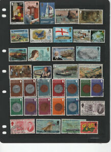 GREAT BRITAIN - CHANEL ISLANDS JERSEY - GUERNSEY USED 4 SCANS