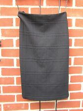 TU Sixties Jacquard Skirt  UK 10   Black pencil