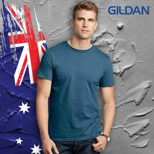 --Gildan Shirt 64000 Soft Style Adult Tee Shirt 100% Cotton 153 GSM OZ size