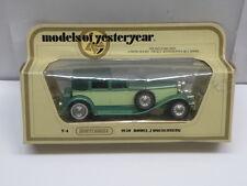 Matchbox Models of Yesteryear Die Cast * 1930 MODEL J DUESENBERG * Y-4 Diecast