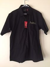 James Squire Black Collared Shirt XL