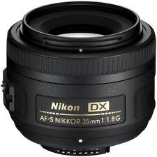 Nikon 35mm f/1.8G DX AF-S Lens D3500 D3400 D5600 D7200 + 5 YEAR NIKON WARRANTY