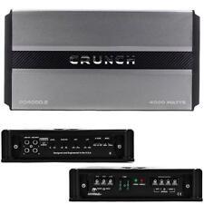 Crunch PD40002 Power Drive Series Class AB 2-Channel 4000W Amplifier - Black