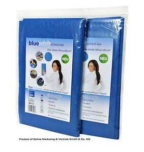 BlueWish universal 2 x antibakteriell mit Silber BlueWish® universal Allzwektuch
