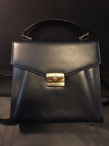 Mark Cross Leather Satchel Bags