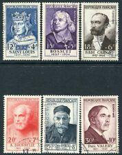 Francia - 1954 retratos Set SG 1215-20 muy fino utilizado V20083