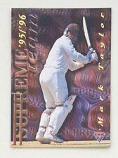 1995/96 Futera Cricket No Limit Supreme Team #ST2 Mark Taylor