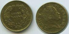 M172 - Spielmarke König von Preussen Rechenpfennig Spielgeld